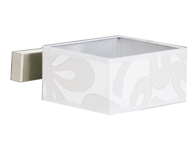 Kinkiet Lima4 1x40W E14 satyna / szary Sanneli Design