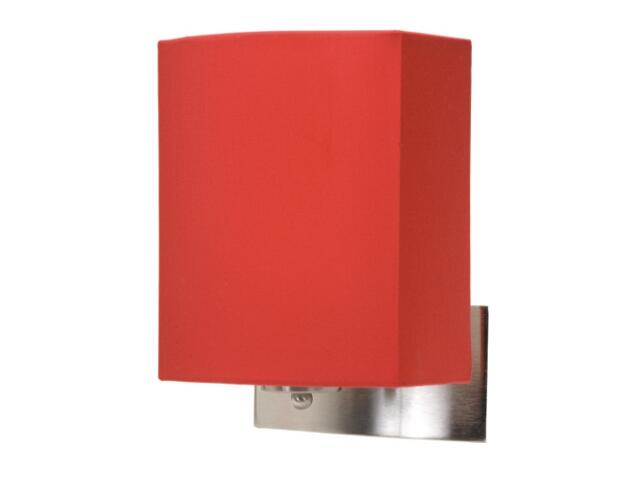 Kinkiet Argos 1x40W E27 satyna/czerwony Sanneli Design