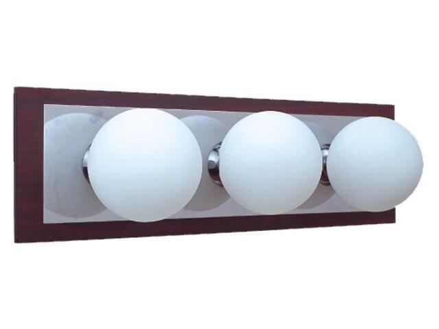 Kinkiet listwa Arte3 3x25W G9 chrom / MDF Sanneli Design