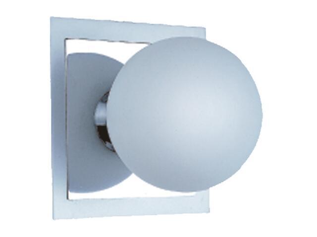 Kinkiet Arte1 1x25W G9 chrom / aluminium Sanneli Design