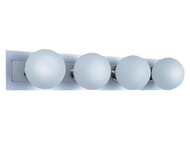 Kinkiet listwa Arte4 4x25W G9 chrom / aluminium Sanneli Design