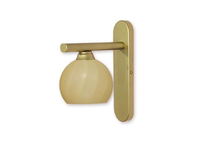 Kinkiet Gama złoto 930/K1 Lemir