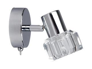 Kinkiet Diament 1xG9 40W 2250128 bezbarwny, srebrny Spot-light