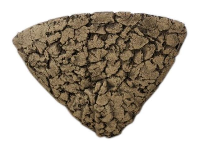 Kinkiet NINA narożnikowa szamot ciemny 1112. Cleoni
