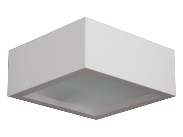 Kinkiet WERA kwadratowa biały 1630. Cleoni