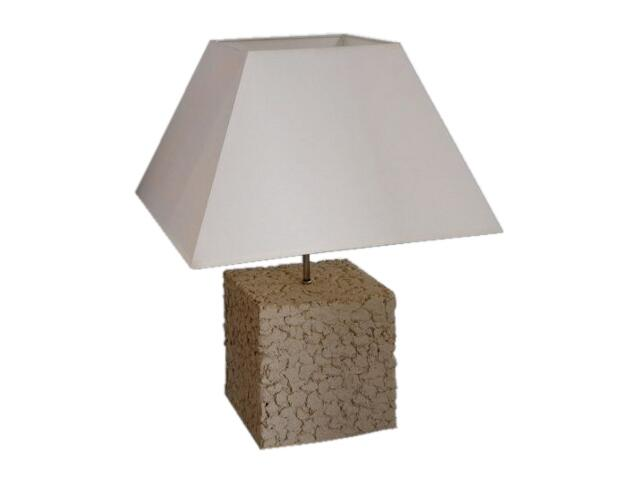 Lampa stołowa 135mm jasny szamot 1660 Cleoni
