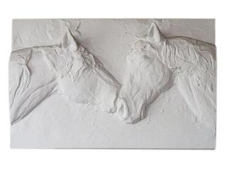 Kinkiet OBRAZ Z KOŃMI P8 biały 3380 Cleoni