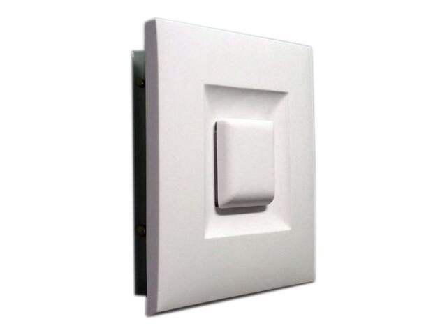 Kinkiet OBRAZ KWADRAT symetryczny mały biały 3690 Cleoni