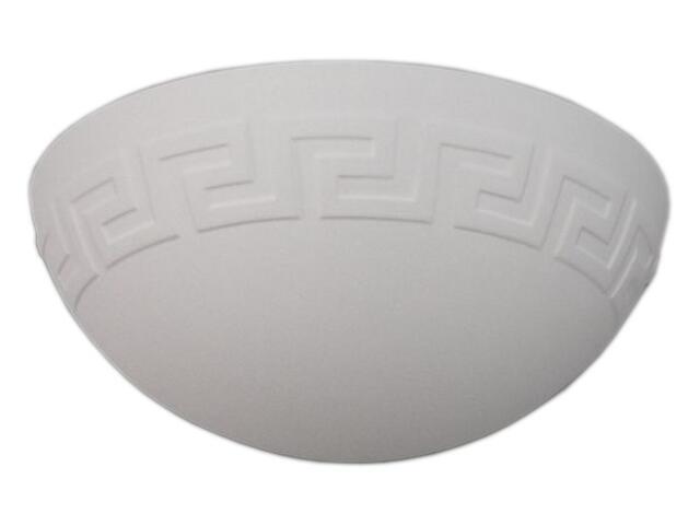 Kinkiet ŁÓDKA grecka średni biały 6210 Cleoni