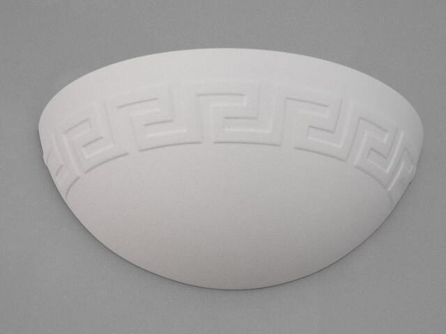Kinkiet ŁÓDKA grecka mały biały 6310 Cleoni