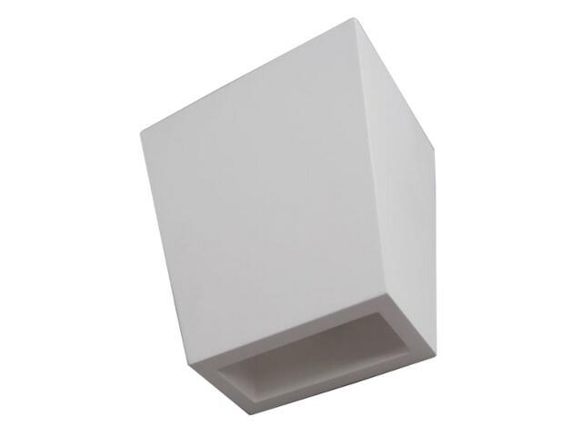 Kinkiet TRAPEZ II biały 6371 Cleoni