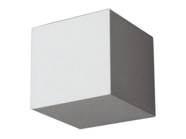 Kinkiet KORYTKO 12 wysokie pełne E27 biały 6610 Cleoni