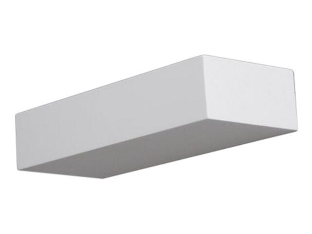 Kinkiet KORYTKO 30 wysokie pełne biały 6622 Cleoni