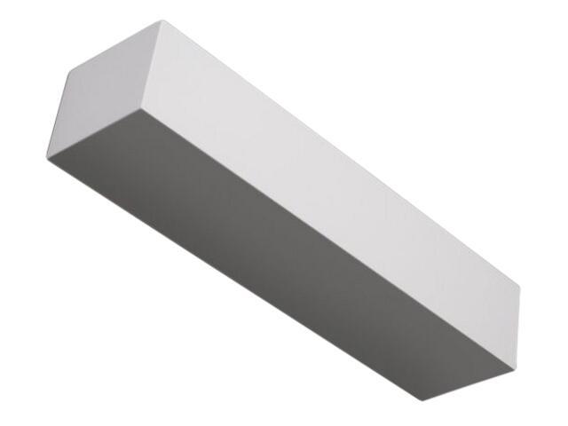 Kinkiet KORYTKO 50 niskie pełne biały 6633 Cleoni