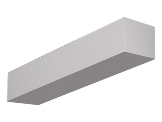 Kinkiet KORYTKO 40 niskie pełne biały 6654 Cleoni