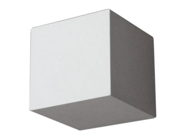 Kinkiet KORYTKO 12 niskie pełne G9 biały 6670 Cleoni