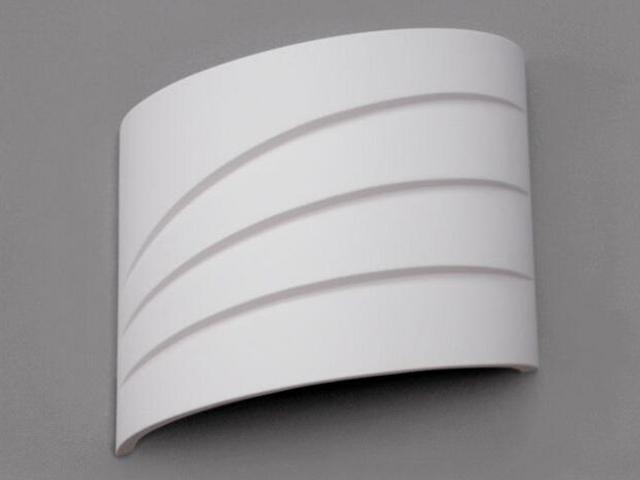 Kinkiet CLAUDIA Fala biały 8200 Cleoni