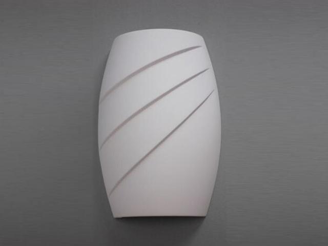 Kinkiet BARYŁKA Fala biały 8300 Cleoni