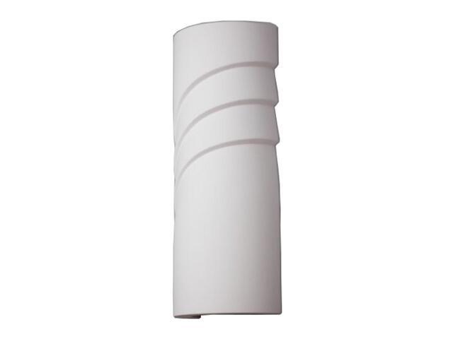 Kinkiet RURA FALA 475 średnia biały 8430 Cleoni