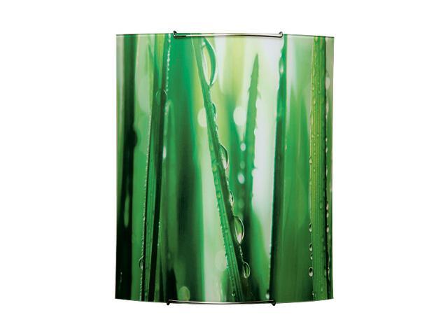 Kinkiet szklany Fantasy 2xE27 60W 1818040 biały, zielony Spot-light