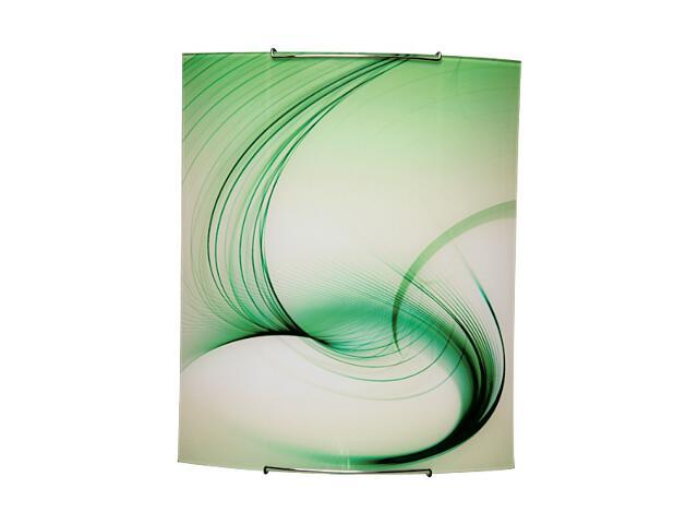 Kinkiet szklany Fantasy 2xE27 60W 1816040 biały, zielony Spot-light