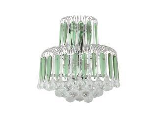 Kinkiet Grenada 2xE14 60W 5100209 srebrny, zielony Spot-light