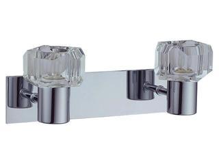 Kinkiet Diament 2xG9 40W 2251228K bezbarwny, srebrny Spot-light