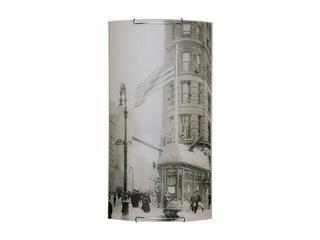 Kinkiet szklany Impressions 3xE27 60W 4060304M biały, szary Spot-light