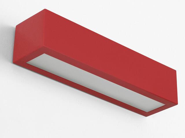 Kinkiet NEKLA 70 czerwony matowy 1152K4111. Cleoni