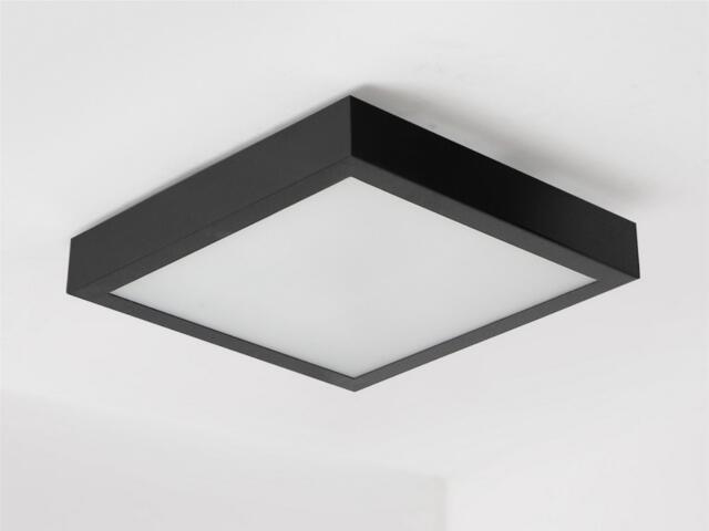 Plafon NEKLA 40 czarny mat brokat 1152P1105 Cleoni