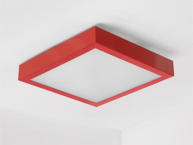 Plafon NEKLA 50 czerwony połysk 1152P2110 Cleoni