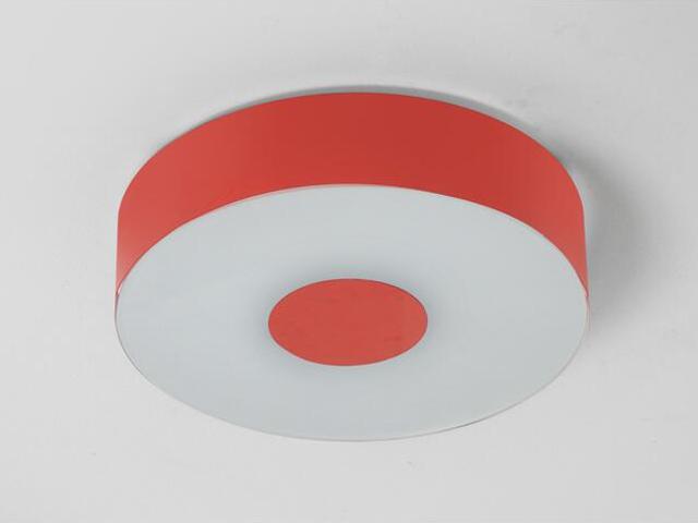 Plafon CARINA 40 czerwony matowy 1158P1111 Cleoni