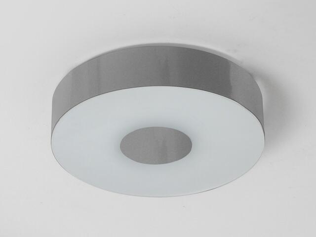 Plafon CARINA 40 srebrny połysk 1158P1102 Cleoni