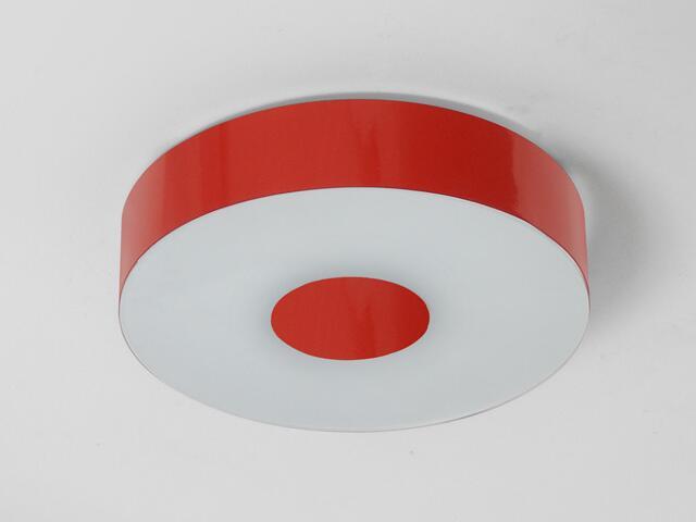 Plafon CARINA 50 czerwony połysk 1158P2110 Cleoni