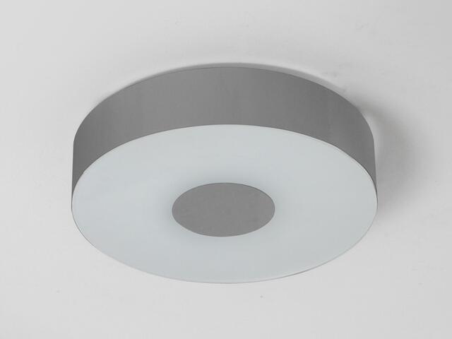 Plafon CARINA 50 srebrny połysk 1158P2102 Cleoni