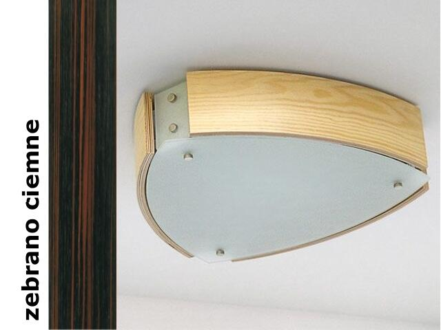 Plafon ATLANTIC III zebrano ciemne 1208P3206 Cleoni