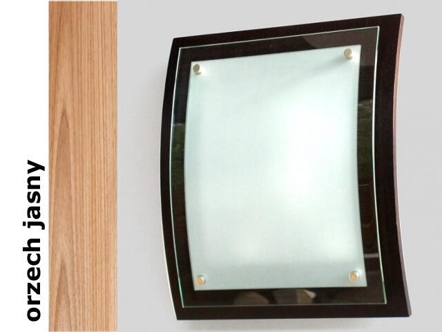 Plafon GRAAL orzech jasny 1209K1210 Cleoni