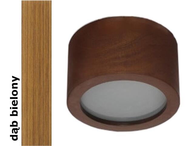 Plafon LUKOMO 43 średni dąb bielony 8654A3208 Cleoni