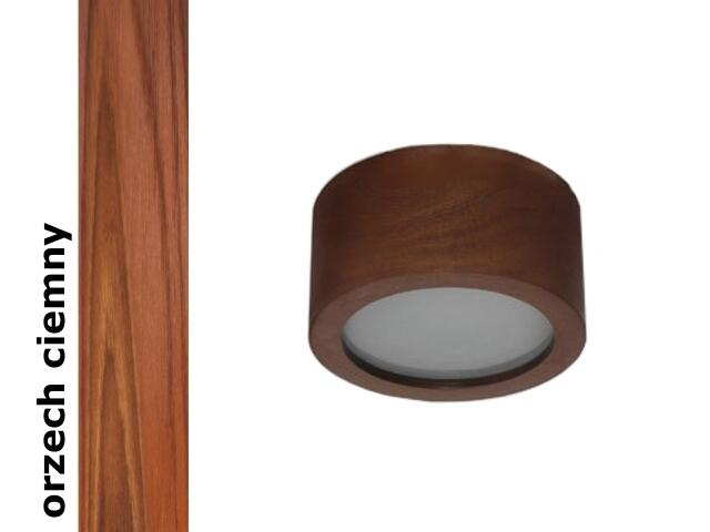 Plafon LUKOMO 43 średni orzech ciemny 8654H4209 Cleoni