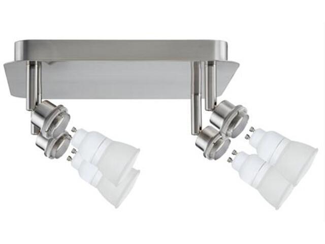 Lampa sufitowa DecoSystem 4x7W GZ10 230V żelazo satynowe metal Paulmann