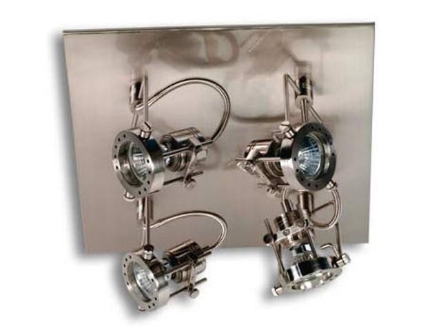 Lampa sufitowa Techno żelazo satynowe 4x50W Paulmann