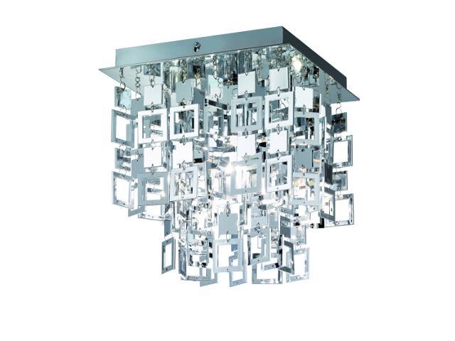 Plafon Quadrato 1xE27 60W R61441106 Reality