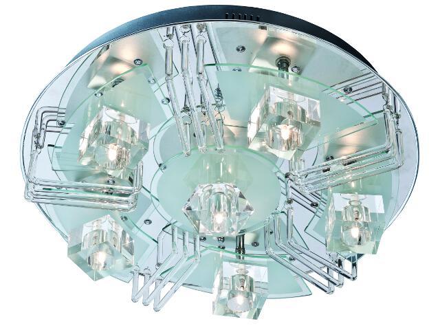 Plafon Halifax 6xG9 40W + 48 LED 63770606 Reality