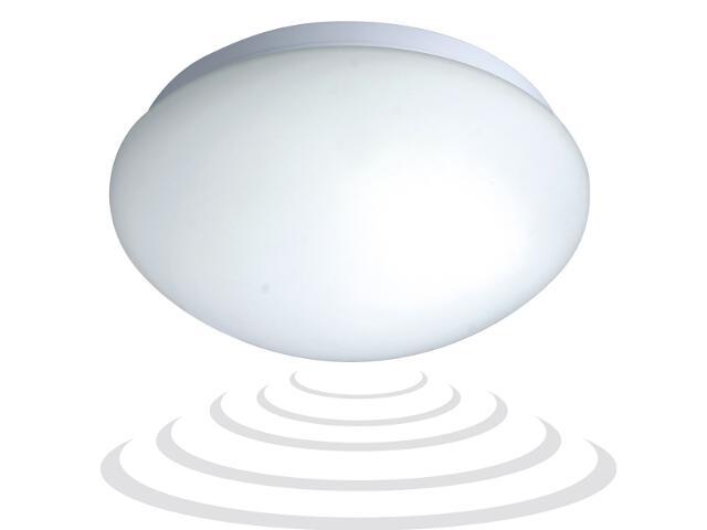 Plafon z mikrofalowym czujnikiem ruchu 5.8 GHz IP20 1x60W E27 OR-PL-303 Orno