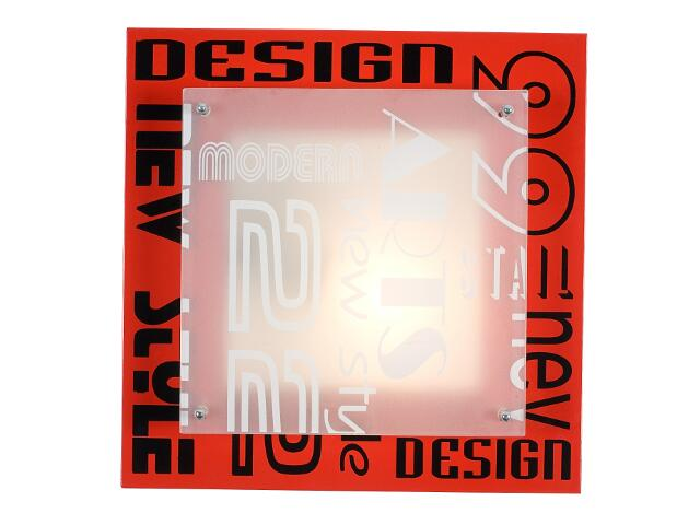 Plafon artis6 1x40W E27 Sanneli Design