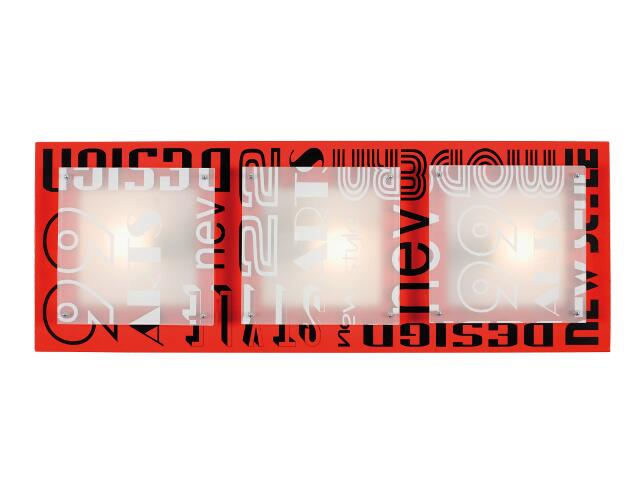 Plafon artis6 3x40W E27 Sanneli Design
