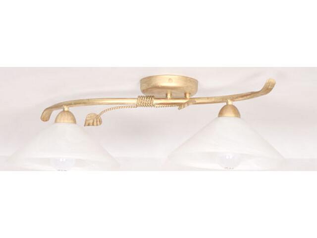 Lampa sufitowa Wika złota 2xE27 01811 Sigma