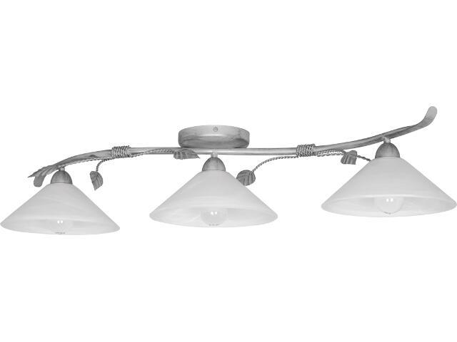Lampa sufitowa Wika srebrna 3xE27 01804 Sigma