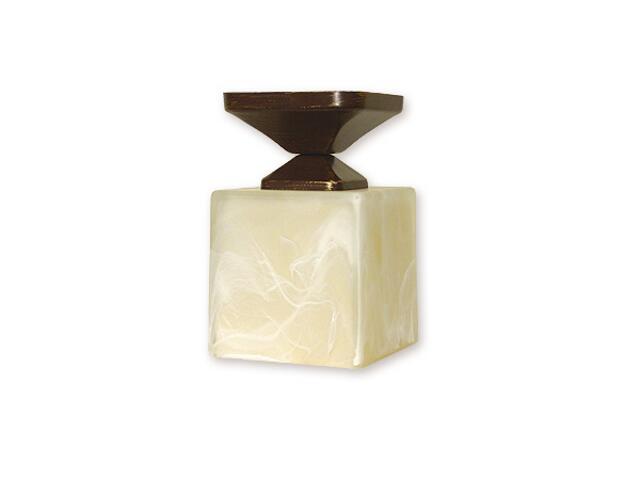Lampa sufitowa Kostka podsufitka brązowa O1061/W1 BR Lemir