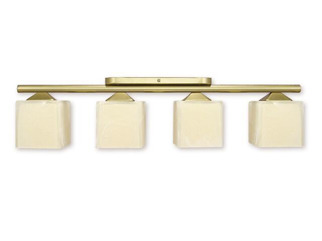 Lampa sufitowa Alfa 4-płomienna złoto 914/W4 ZŁ Lemir